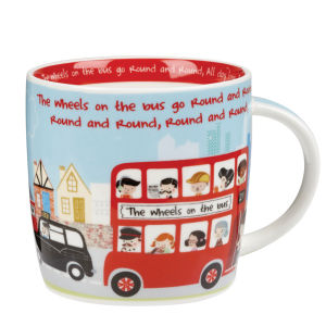 Little Rhymes Wheels on the Bus Mug in Gift Box