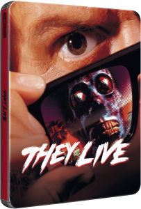 They Live - Zavvi Exclusive Limited Edition Steelbook (Ultra Limited Print Run) (UK EDITION)