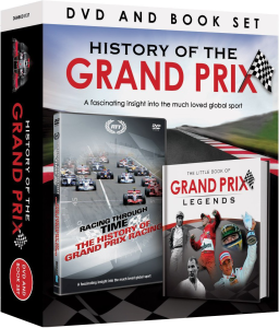 grand prix legends book and dvd set dvd zavvi. Black Bedroom Furniture Sets. Home Design Ideas