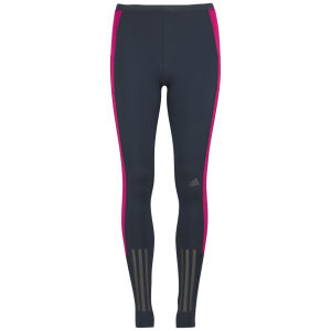 adidas Women's Super Nova Long Running Tights - Nightshade/Vivid Berry