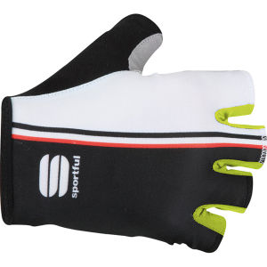 Sportful Bodyfit Pro Glove - White/Black/Yellow Fluo
