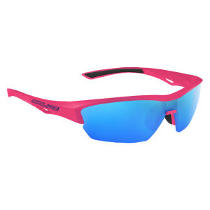 Salice 011 RW Sports Sunglasses - Mirror - Fuchsia/Blue