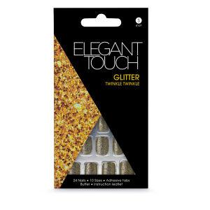 Elegant Touch Glitter Nails - Twinkle Twinkle