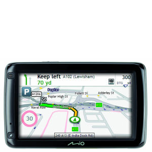 Navman Mio Spirit 695LM Sat Nav with free Lifetime Map Updates