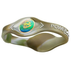 Power Balance -The Original Performance Wristband   Camo With White Lettering