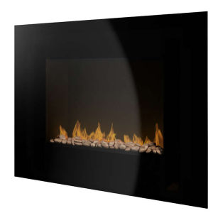 Pifco Wall Mounted Fire with Pebble Effect