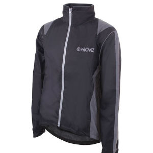 Proviz Waterproof Cycling Jacket - Black