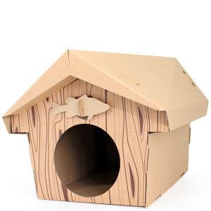 Cat Playhouse - Cabin