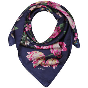 Joules Bloomfield Scarf - Navy Floral