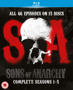 Sons of Anarchy - Saisons 1-5 Blu-ray