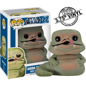 Star Wars Jabba The Hutt Funko Pop! Bobblehead Figuur