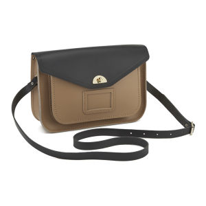 The Cambridge Satchel Company Women's Shoulder Bag Satchel - Strap Black/Biscuit: Image 2