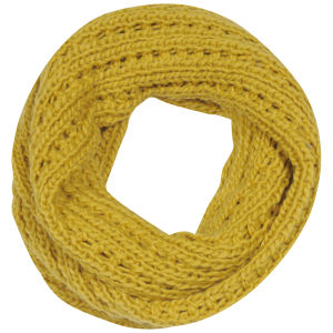 Boardman Bros Women's Knitted Snood - Mustard