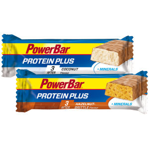 PowerBar ProteinPlus + Minerals Bar - Box of 30