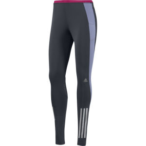 adidas Women's Supernova Long Tight - Night Shade/Blast Pink