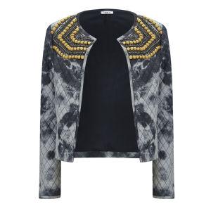 Only Women's Rakella Embellished Jacket - Black Iris