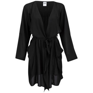 Vero Moda Women's Event Waterfall Jacket - Black