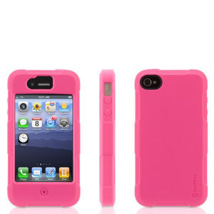 Griffin Protector Everyday Duty Case for iPhone 4/4S - Pink (GB02570)