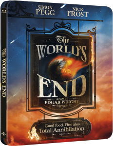 The World's End - Limited Edition Steelbook (Includes UltraViolet Copy)