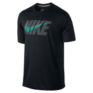 Nike Men's Legend Short Sleeve Nike Swoosh T-Shirt - Black