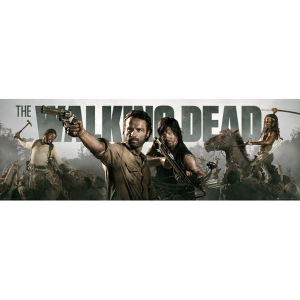 The Walking Dead Banner - Door Poster - 53 x 158cm