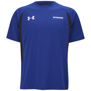 Under Armour® Premier Męski T-shirt - niebieski