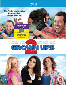 Grown Ups 2 - Mastered in 4K Editie (Bevat UltraViolet Copy)