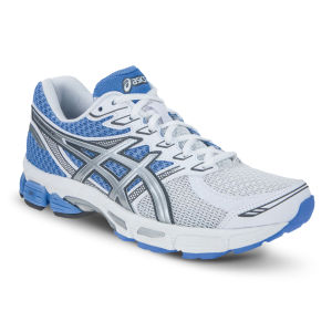 Asics Women's Gel-Phoenix 6 Running Trainers - White/Silver/Light Blue