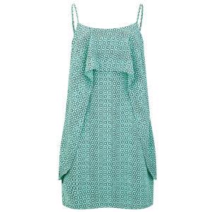 Vero Moda Women's Nugga Layered Dress - Turquoise