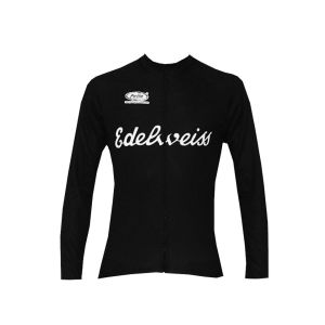 Pella Edelweiss Long Sleeve Jersey - Black