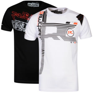 Rawcraft Men's Clio & Tech 2-Pack T-Shirts - Black/White