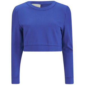 Lavish Alice Women's Wrap Back Sweater - Cobalt