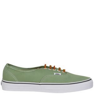 9890361935 Vans Authentic Brushed Twill Trainer - Shale Green True White  Image 3