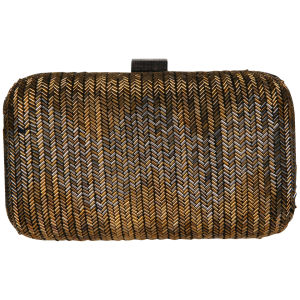 French Connection Bugle Box Clutch