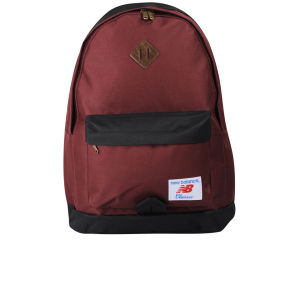 New Balance Casual Backpack - Burgundy/Black