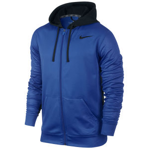Nike Men's Knockout Full Zip Hoody - Game Royal