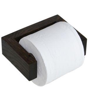 Wireworks Dark Oak Toilet Roll Holder