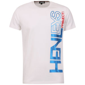 Henleys Men's Exploit T-Shirt - White/Blue
