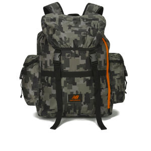New Balance AOP Backpack - Grey/Orange Camouflage