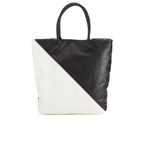 French Connection Women's Libby Tote Bag - Black/Summer White