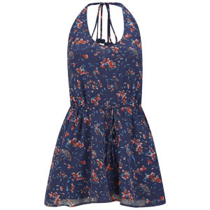 French Connection Women's Andreanna Beach Playsuit - Blue Pint