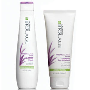 Matrix Biolage HydraSource Shampoo und Conditioner