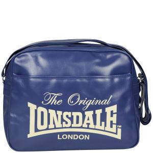 Lonsdale Front Pocket Messenger Bag - Navy