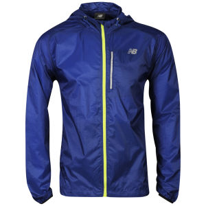 New Balance Men's Impact Jacket - Navy