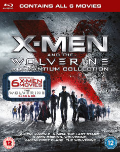 X-Men and Wolverine Adamantium Verzameling (Bevat UltraViolet Copy)