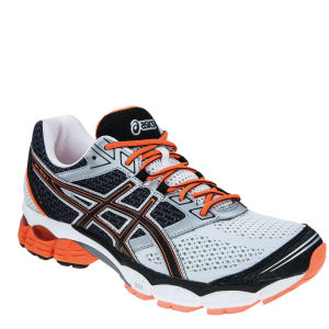 Asics Men's Gel Pulse 5 Running Trainers - White/Onyx/Neon Orange