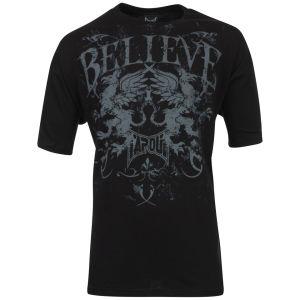 TapouT Men's Believe Griffin T-Shirt - Black