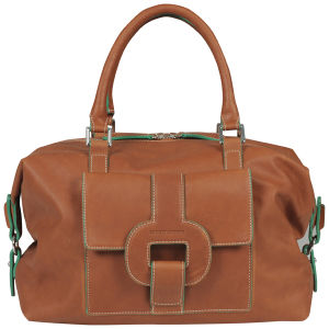 Louis Quatorze Vagabonde Small Weekend Bag - Cognac
