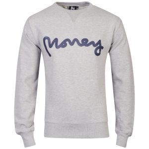 Money Men's Sig Ape Sweatshirt - Grey Marl