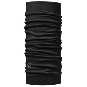 Buff Tubular Wool Headwear - Black